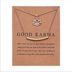 Good karma necklace new